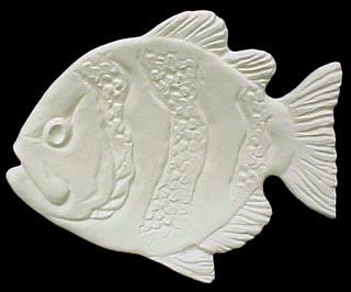 Fish tea bag holder emeraldz fine ceramic bisque for Fish tea bags