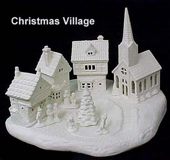 Scioto's Complete Christmas Village - Emeraldz Fine