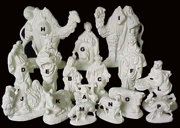 Ceramic Nativity Sets Atlantic nativity set - emeraldz fine ceramic ...